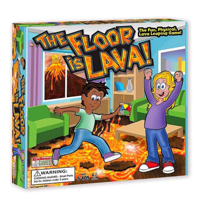 The Floor is Lava Game - STEAM Kids Brisbane