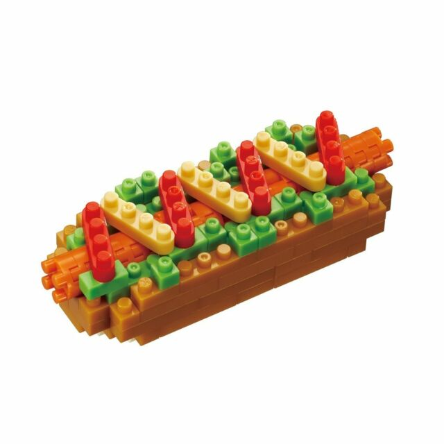 Hot Dog Nanoblock - STEAM Kids Brisbane