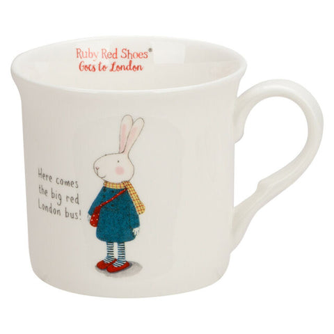 Ruby Red Shoes London Bus Mug - STEAM Kids Brisbane