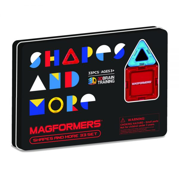 Magformers Shapes and More 33 Piece Tin - STEAM Kids Brisbane