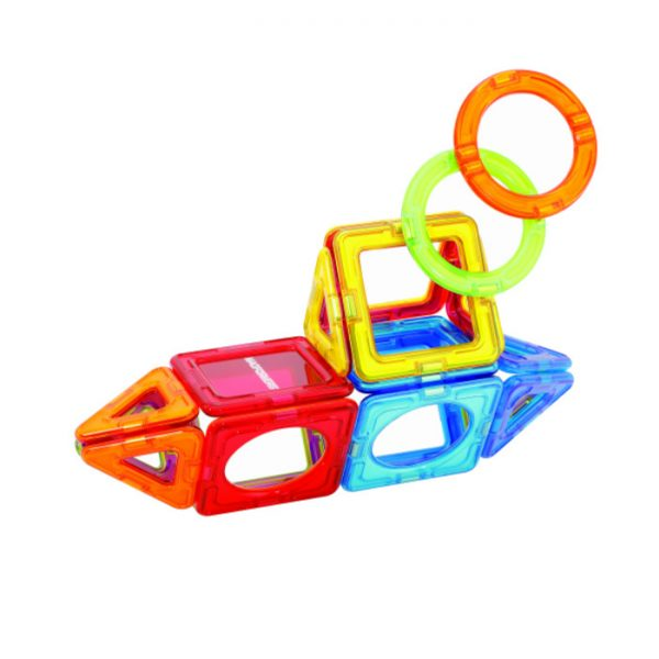 Magformers Shapes and More 20 piece tin - STEAM Kids Brisbane