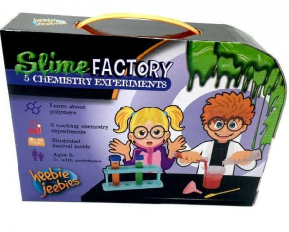 Heebie Jeebies Slime Factory - STEAM Kids Brisbane