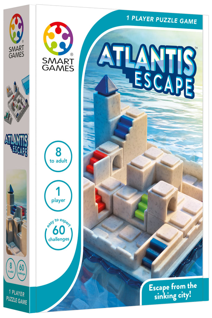 Smart Games Atlantis Escape - STEAM Kids