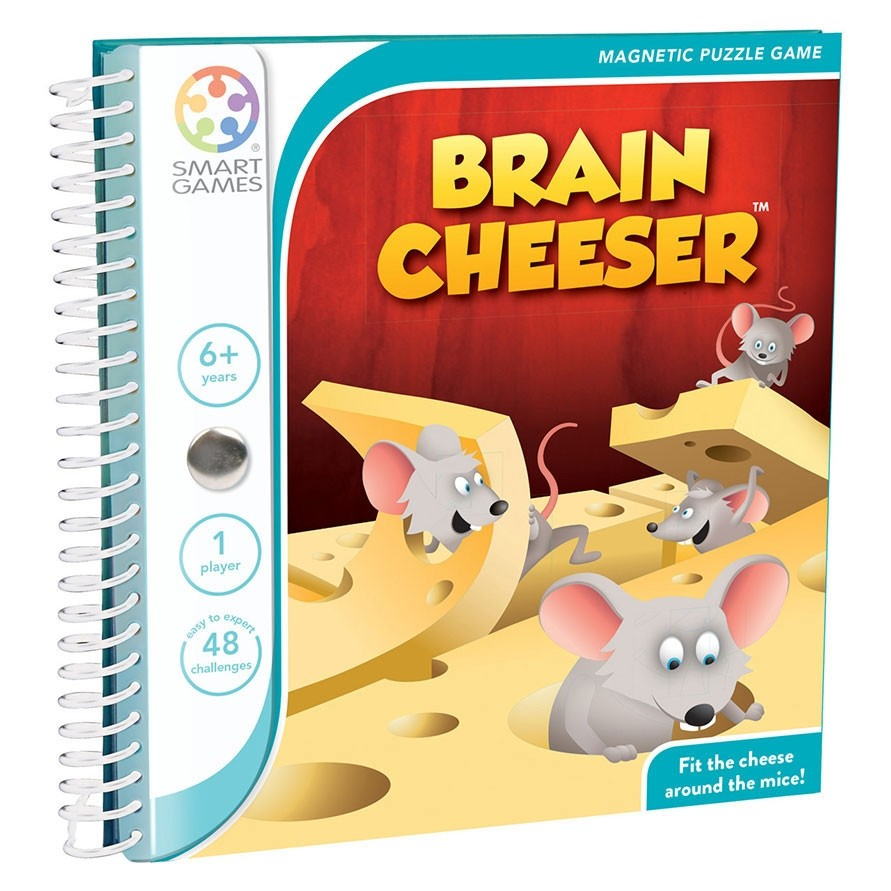 Smart Games Brain Cheeser Magnetic Puzzle Game - STEAM Kids Brisbane