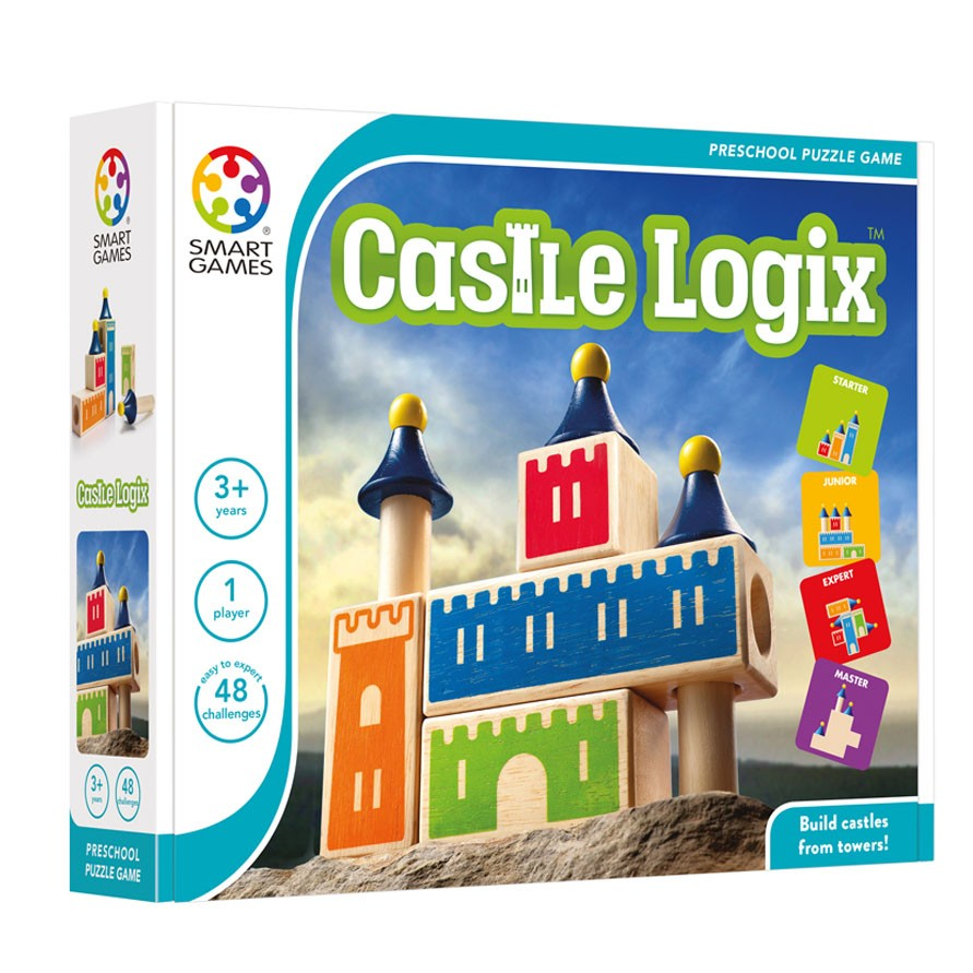 Smart Games Castle Logix - STEAM Kids Brisbane
