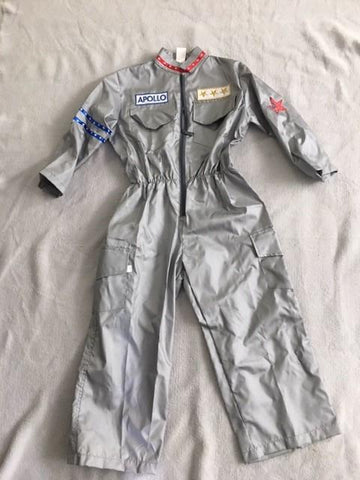 Gollygo Space Suit Astronaut Dress Up Costume Large (4-8) - STEAM Kids Brisbane