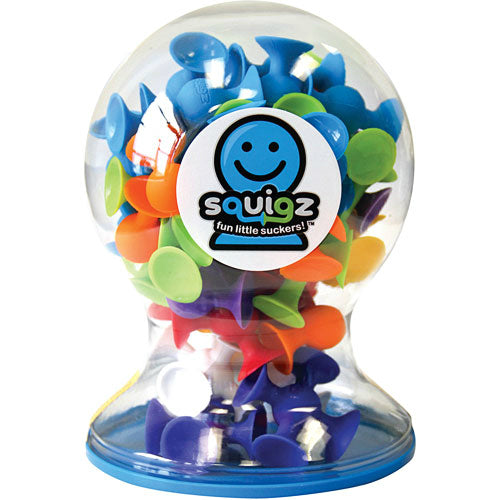 Squigz Deluxe 50 Piece Set by Fat Brain Toys - STEAM Kids Brisbane