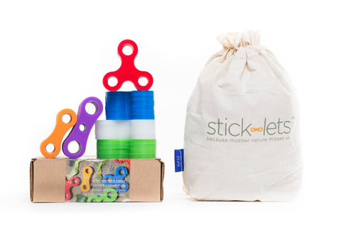 Stick-lets PlayDate 36 Piece Set - Flying Fox Shop Brisbane