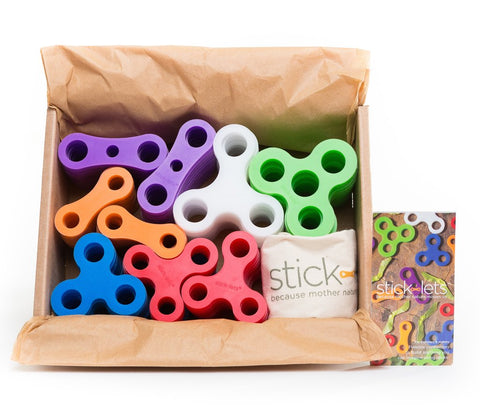 Stick-lets Small Education 90 Piece - STEAM Kids Brisbane