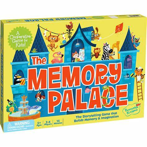Peaceable Kingdom The Memory Palace Cooperative Storytelling Game - STEAM Kids Brisbane