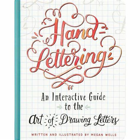 Hand Lettering - An Interactive Guide - STEAM Kids Brisbane