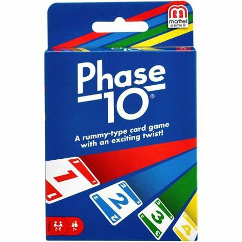 Phase 10 Card Game by Mattel - STEAM Kids Brisbane
