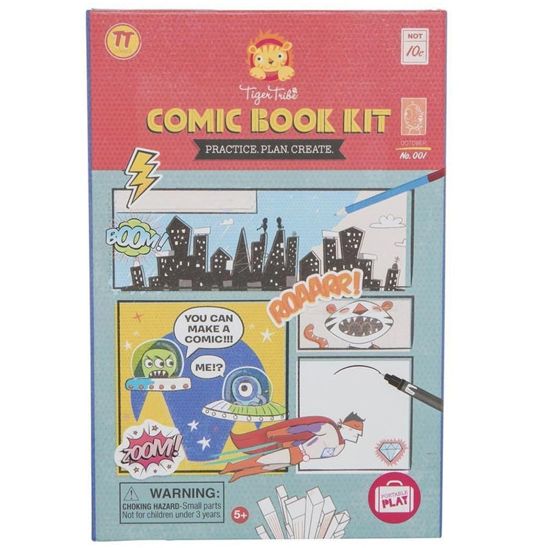 Tiger Tribe Comic Book Kit - STEAM Kids Brisbane