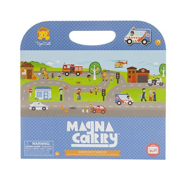Tiger Tribe Magna Carry Emergency Rescue - STEAM Kids Brisbane