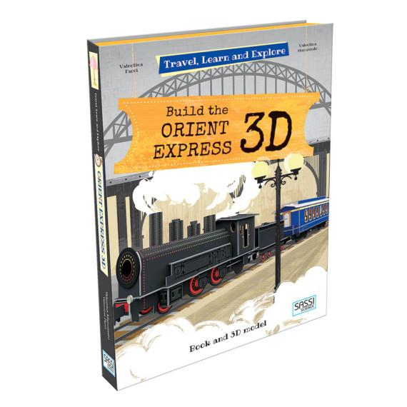 Sassi Travel, Learn and Explore 3D - Build the Orient Express - STEAM Kids Brisbane