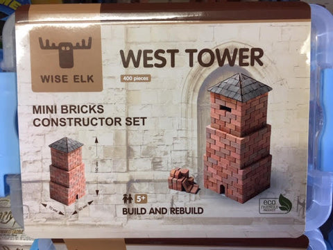Wise Elk Mini Brick West Tower - STEAM Kids Brisbane