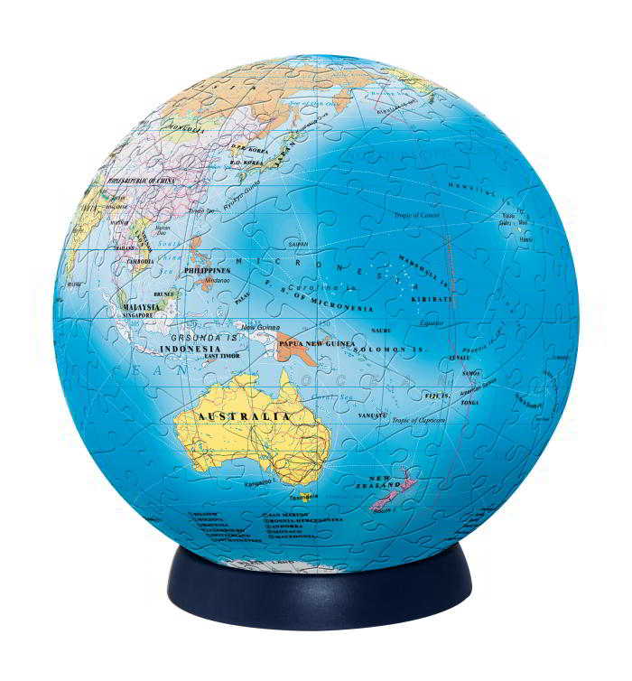 Jigsaw Puzzle Ball 15cm Globe| 240 Pieces - STEAM Kids Brisbane
