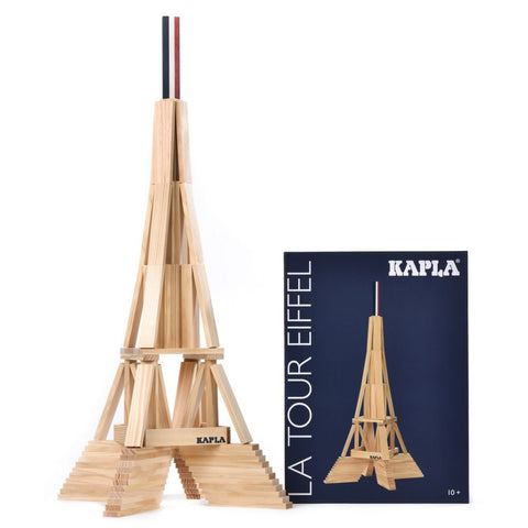 Kapla Eiffel Tower - STEAM Kids Brisbane
