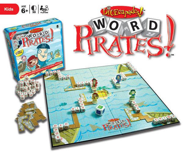 Dicecapades Word Pirates! - STEAM Kids Brisbane