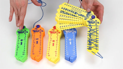 Math Wrap-up Keys - Set of 5 - Flying Fox Shop Brisbane