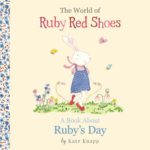 The World of Ruby Red Shoes : A Book About Ruby's Day - STEAM Kids Brisbane