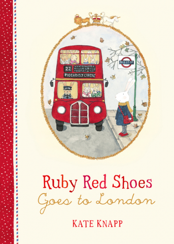 Ruby Red Shoes Goes to London - Flying Fox Shop Brisbane