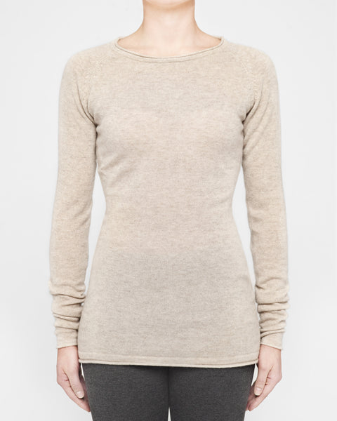 Light Sand - Fitted Raglan