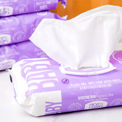 Nice 'N Clean Sensitive Skin Baby Wipes