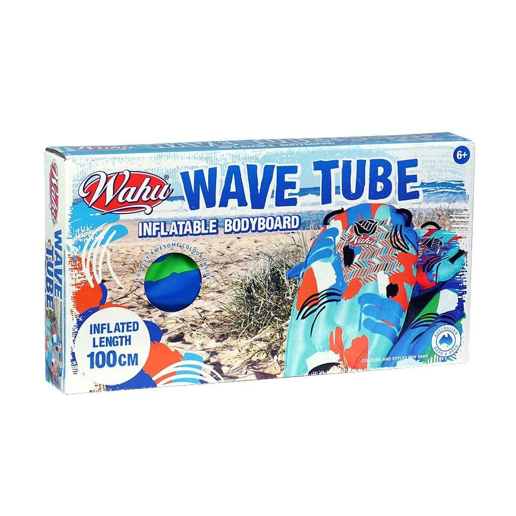 Wahu Wave Tube Inflatable Bodyboard box