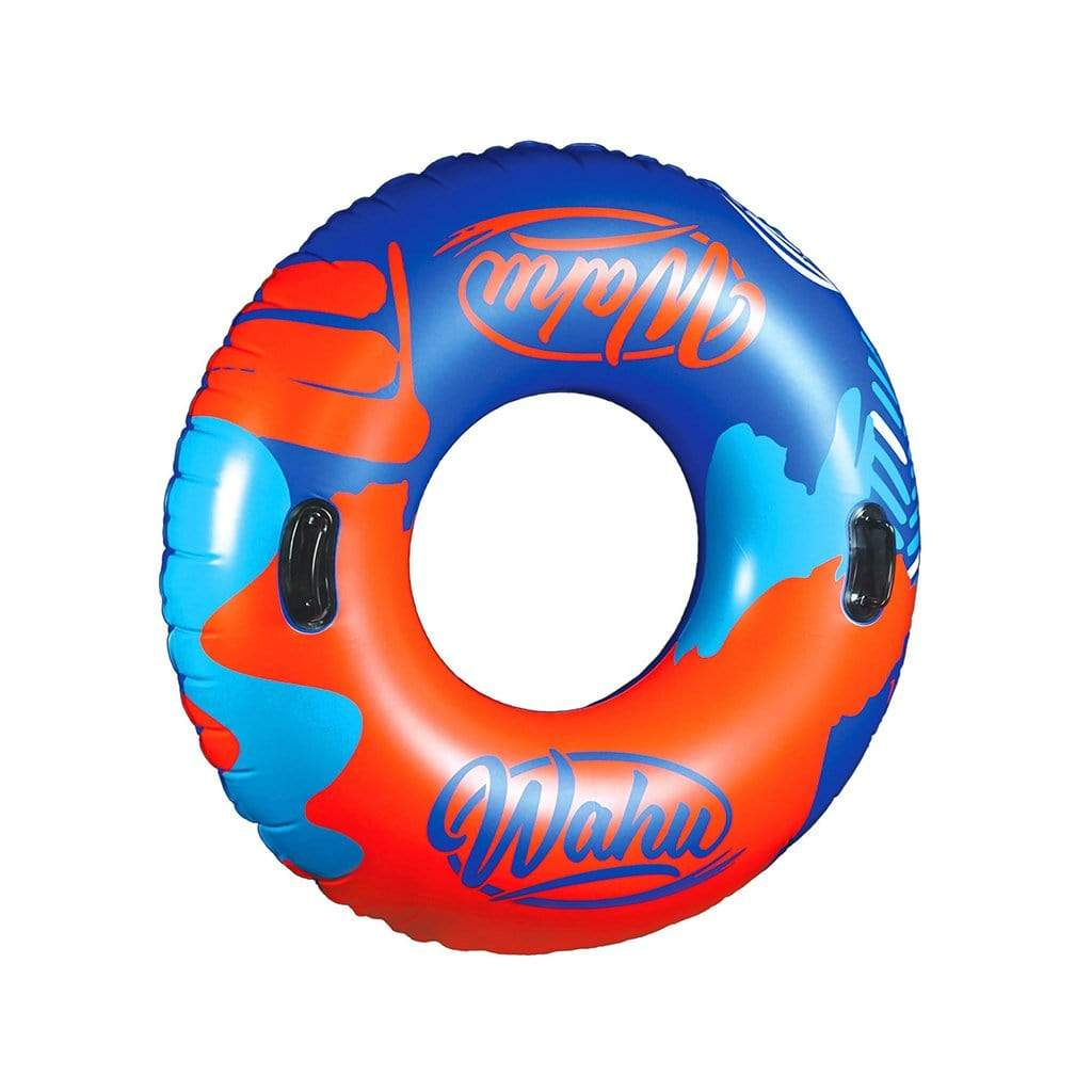 Wahu The Big O Inflatable Tube Pool Red and Blue