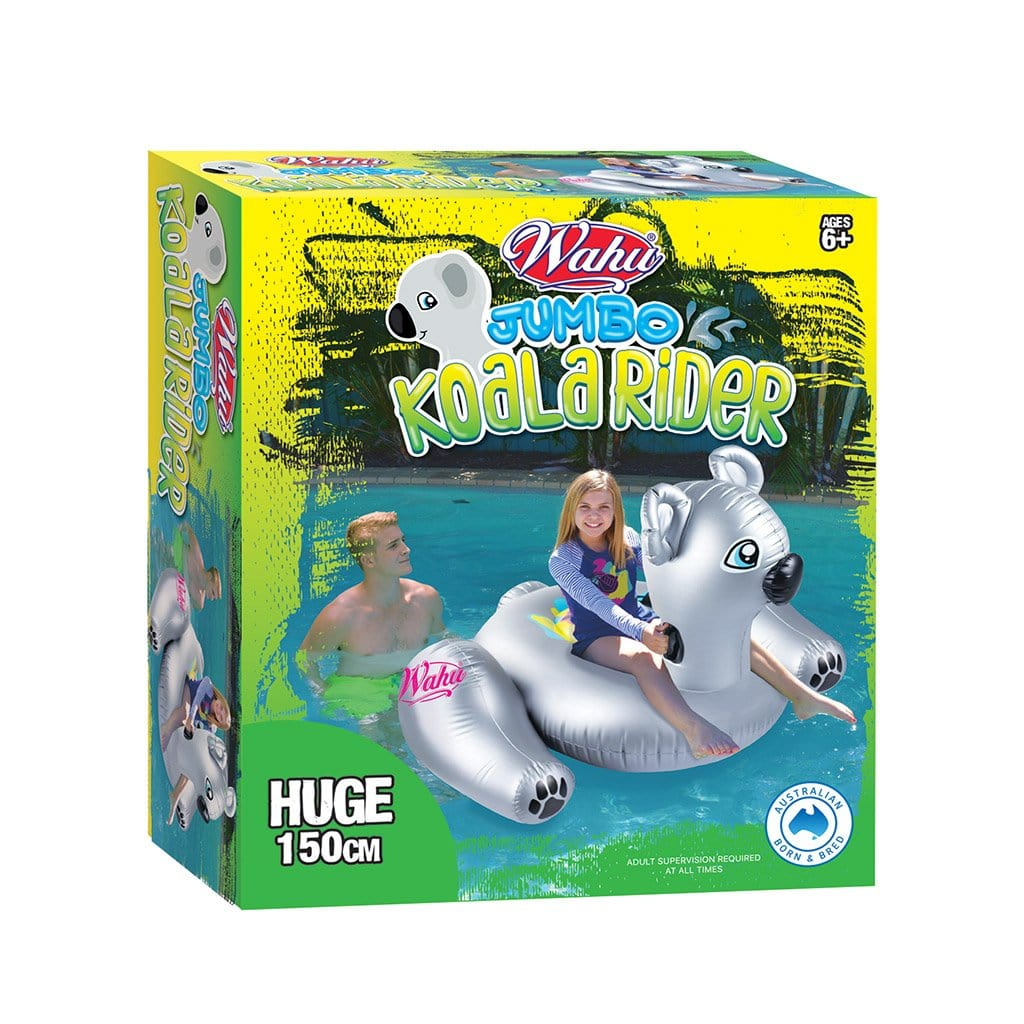 Wahu Pool Pets Jumbo Koala Rider Inflatable