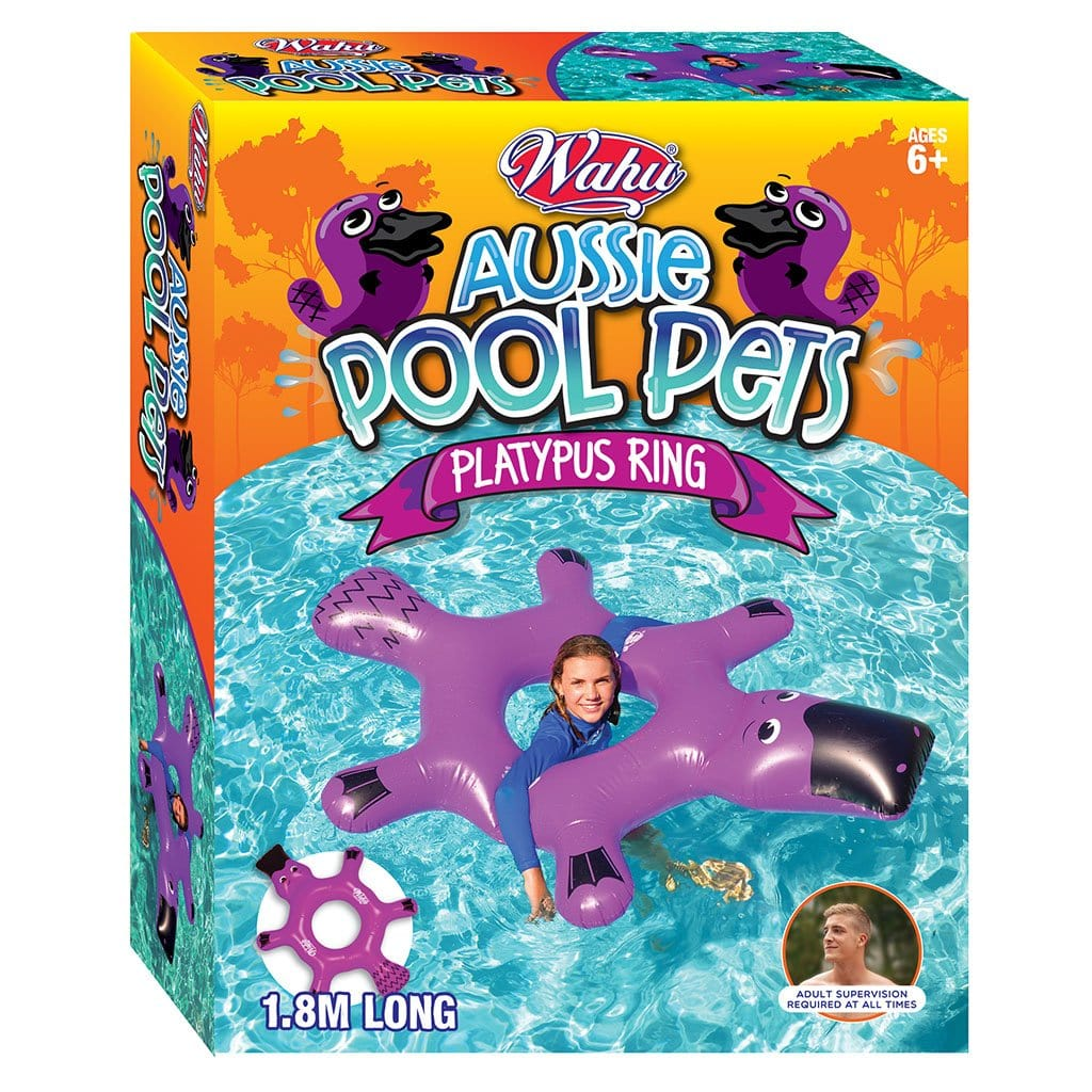 Wahu Platypus Ring Purple Inflatable Pool Toy