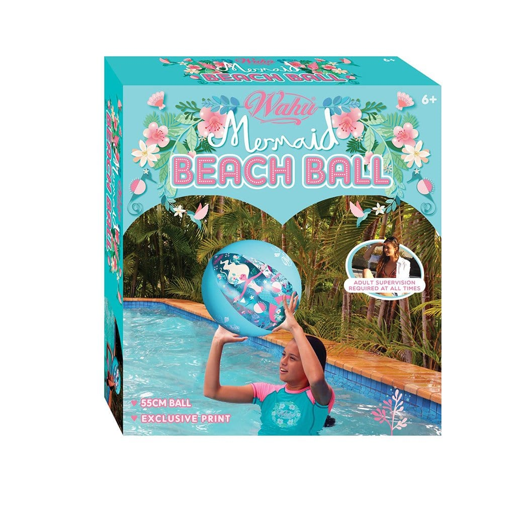 Wahu Mermaid Inflatable Beach Ball