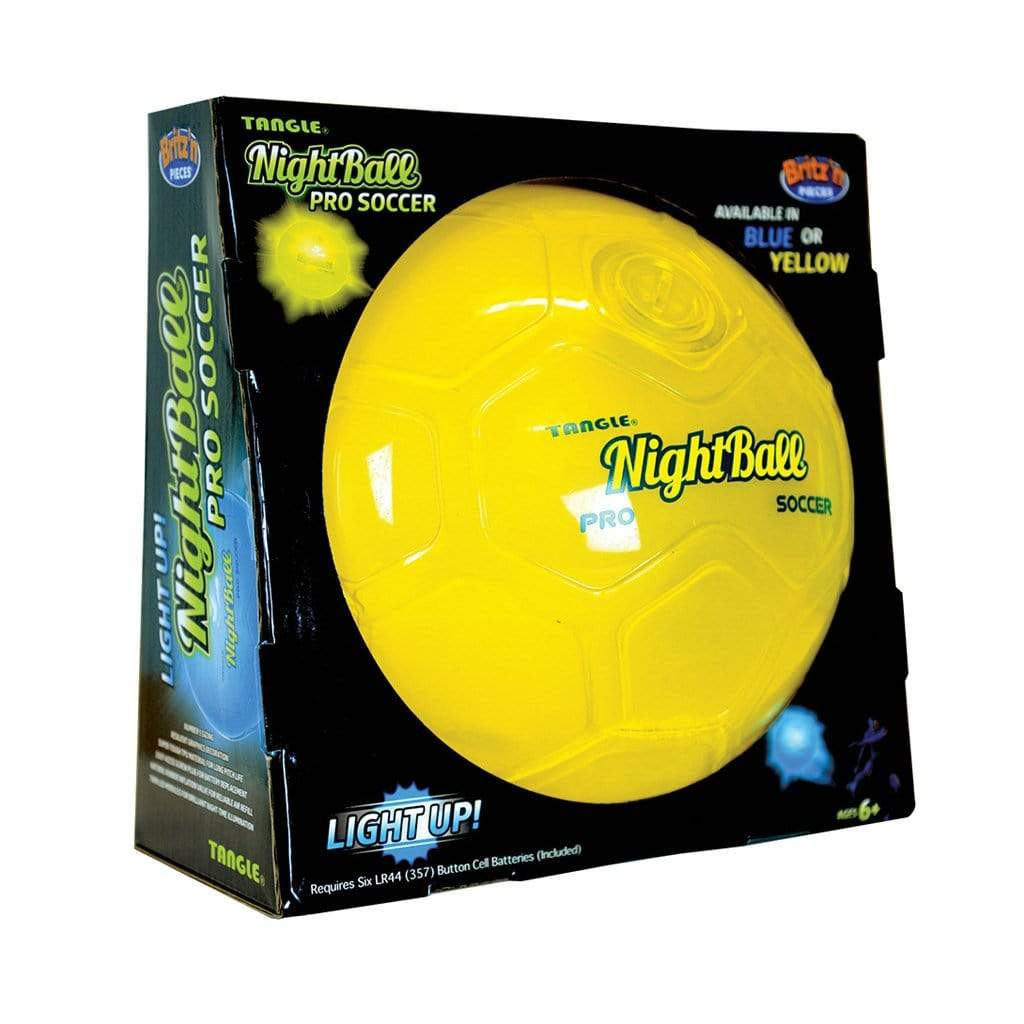 Britz N Pieces Nightball Pro Soccer Yellow