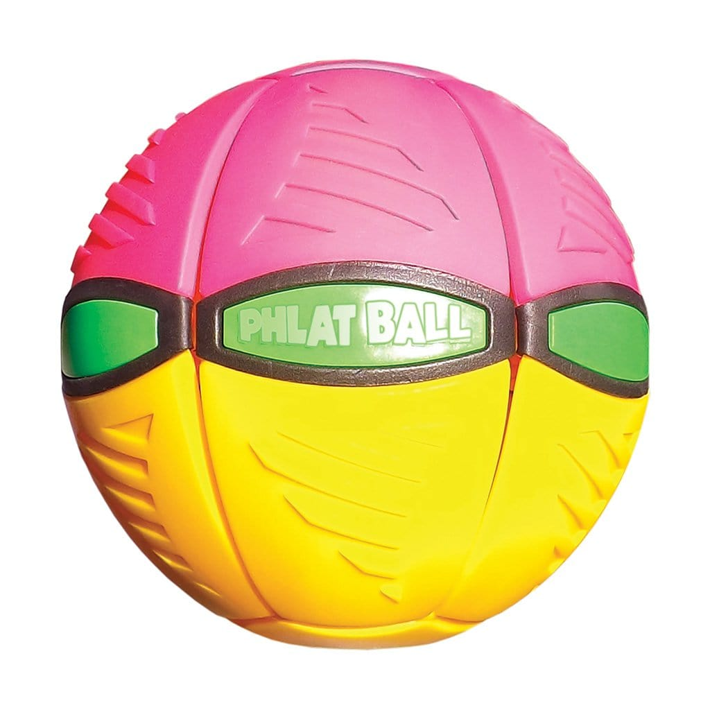 Phlat Ball V3 Yellow & Pink