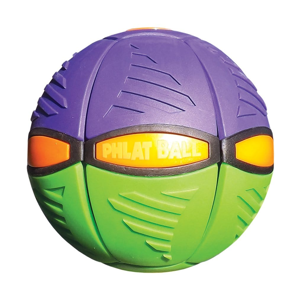 Phlat Ball V3 Green & Purple