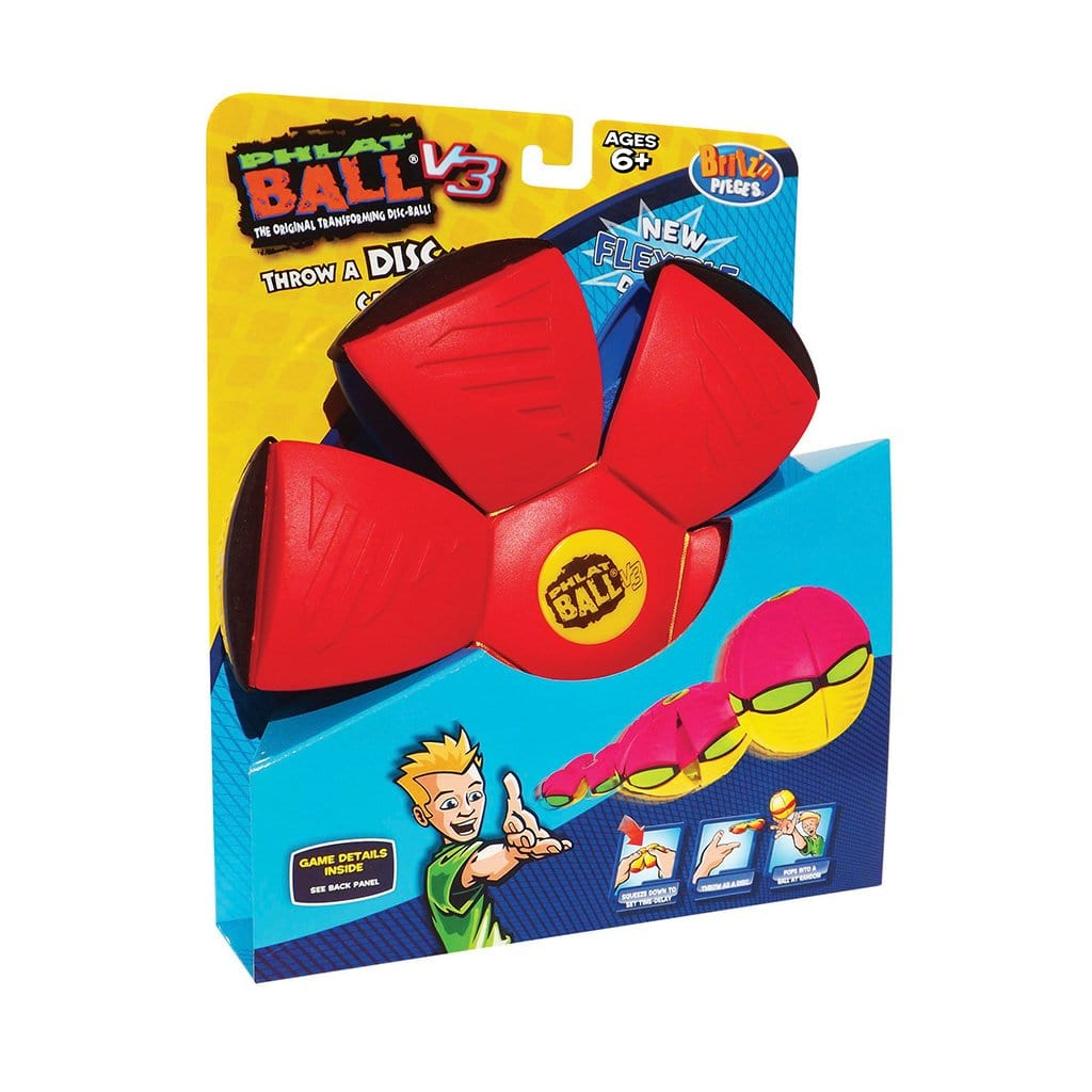 Phlat Ball V3 Red & Blue