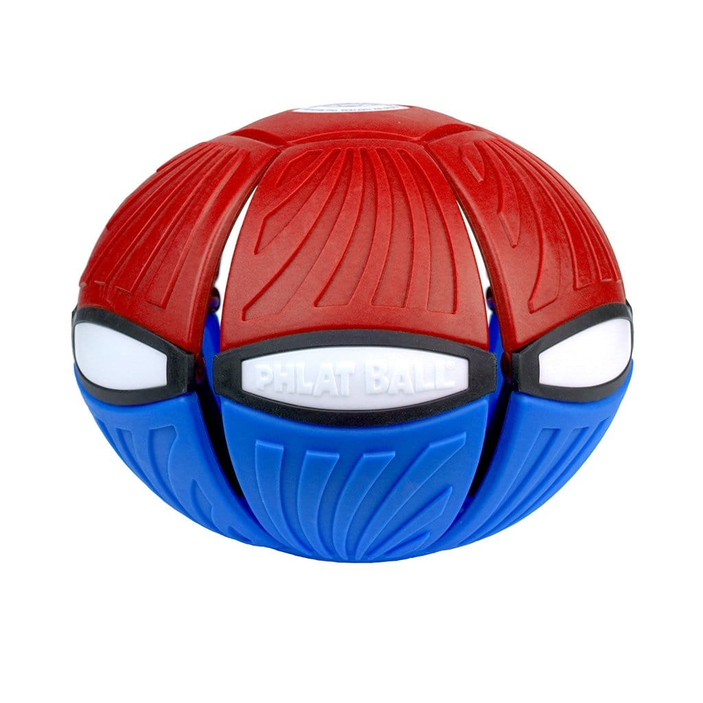 Red and Blue Phlat Ball V4