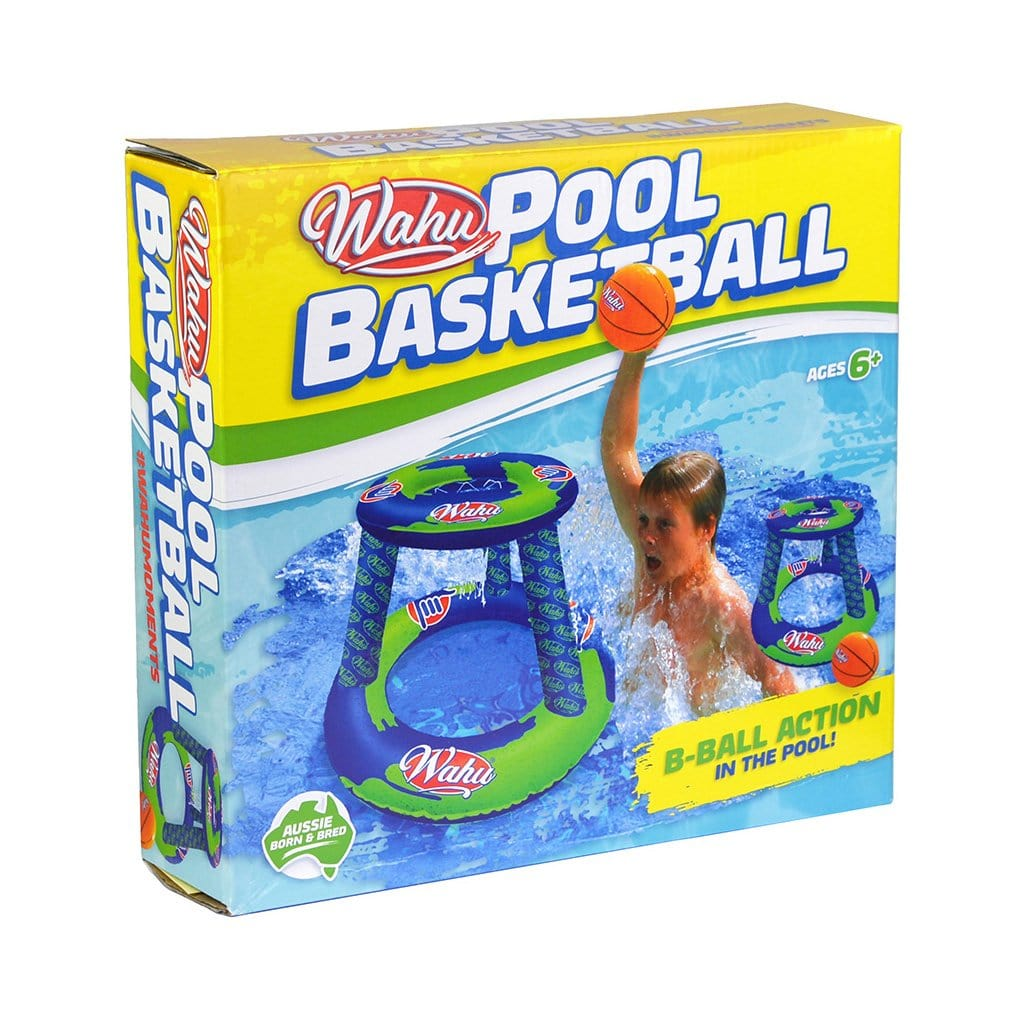 Wahu Pool Basketball Inflatable Toy