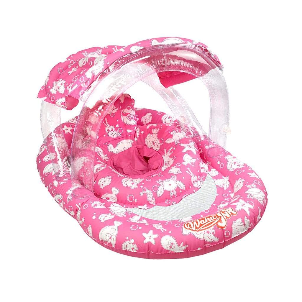 Wahu Junior Ring with Seat & Canopy Pool Inflatable Pink