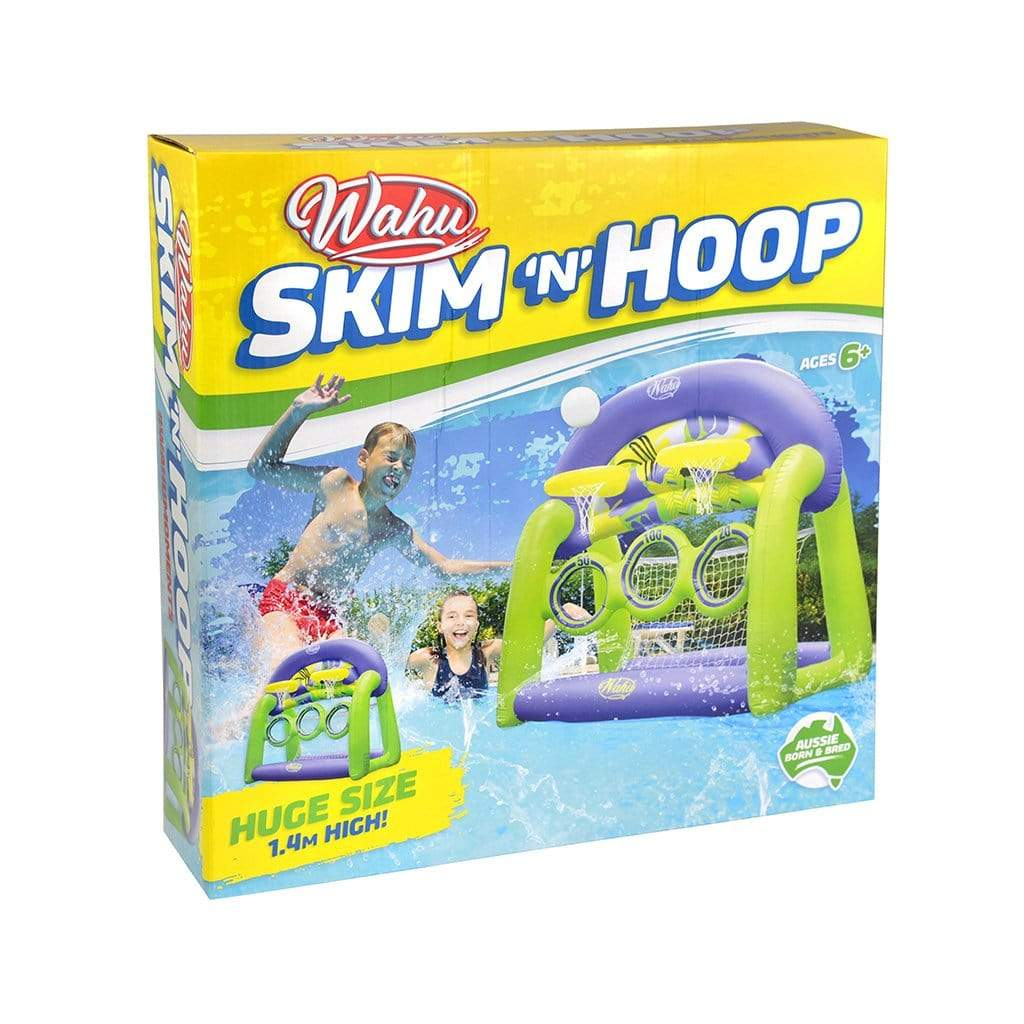 Wahu Skim 'N Hoop Inflatable Pool Toy