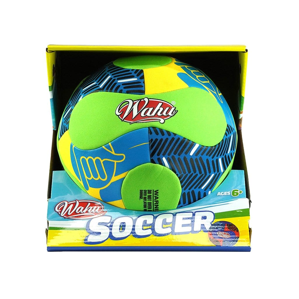 Wahu Soccer Ball Neoprene Green
