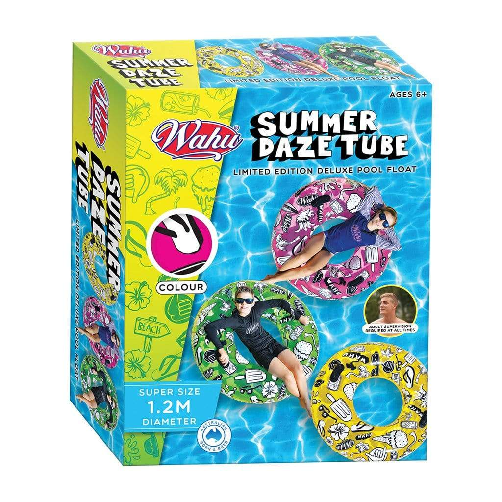 Wahu Summer Daze Tube Pool Inflatable