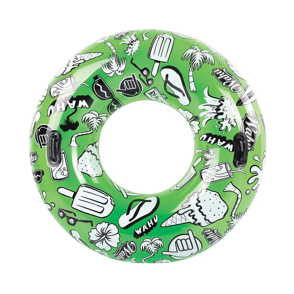 Wahu Summer Daze Tube Pool Inflatable Green