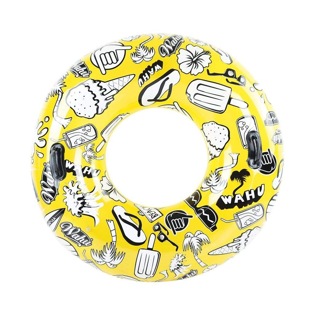 Wahu Summer Daze Tube Pool Inflatable Yellow
