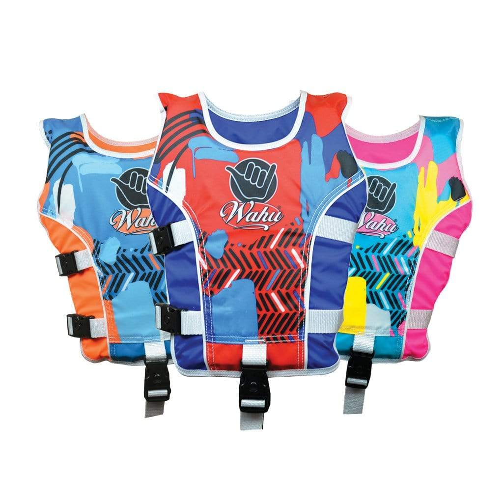 Wahu Small Large Vests assortment