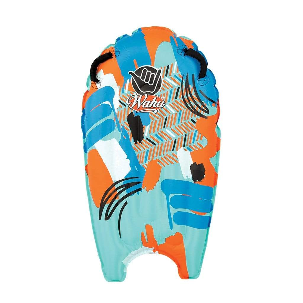 Wahu Wave Tube Inflatable Bodyboard Orange and Blue