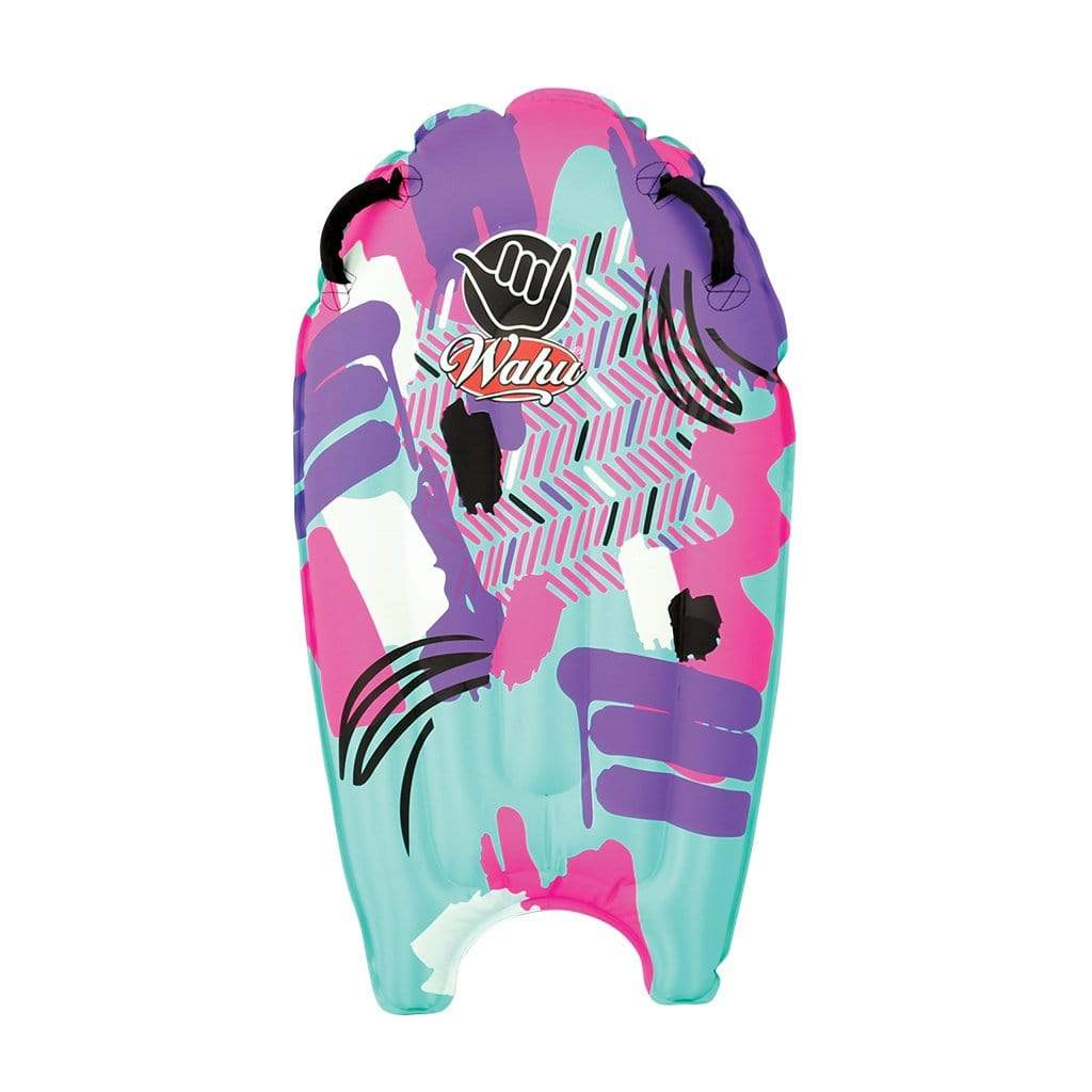 Wahu Wave Tube Inflatable Bodyboard Pink and Purple