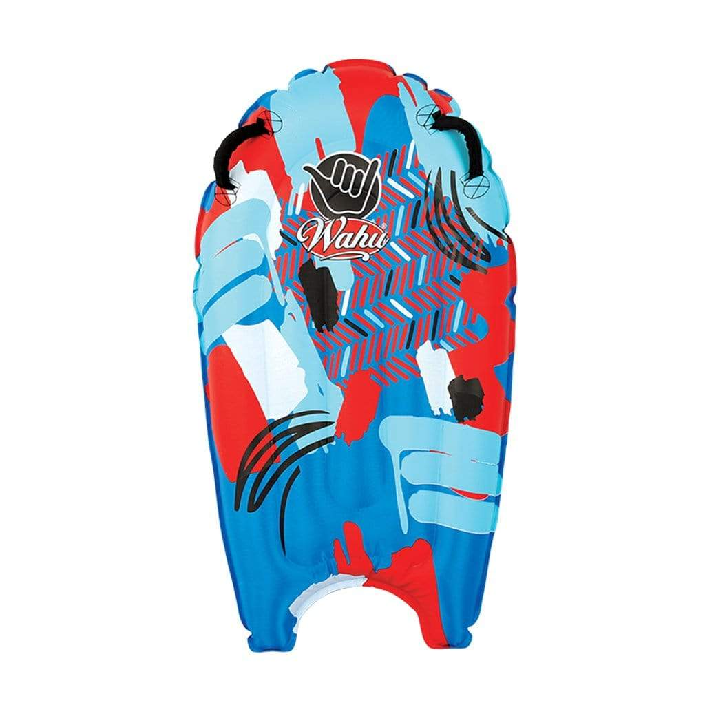 Wahu Wave Tube Inflatable Bodyboard Red and Blue