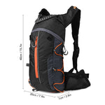 Orange Outdoor Hydration Backpack